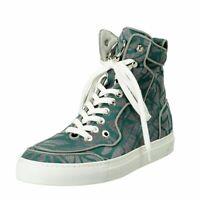 Casadei Men's Multi-Color Leather Hi Top Fashion Sneakers Shoes US 9 IT 42