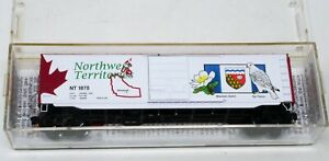 Micro-Trains Line 77162 N Box Car Canadian Provincial NORTHWEST TERRITORIES NT