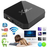 X96 Mini 16 Go Android 7.1 TV Box Smart HD Lecteur multimédia réseau Quad Core