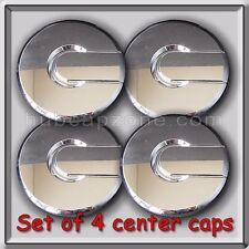 Set 4 Chrome Hummer H2 Center Caps, Hubcaps. Fits 2003-2008 Stock OEM Wheels