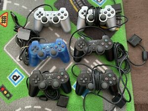 Sony Playstation PS2 Controllers X6