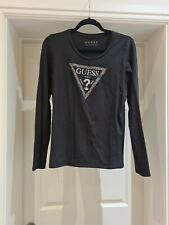 Womens Guess Long Sleeve Top Size Large
