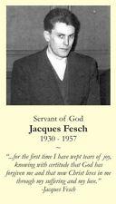 Servant of God Jacques Fesch Prayer CARD (wallet size)