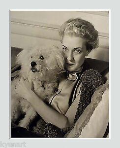 Socialite 'MRS HARRISON WILLIAMS,' BY LOUISE DAHL-WOLFE, Vintage Photo, Ca 1930