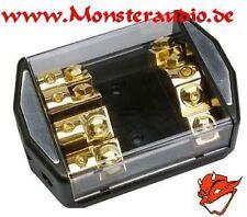 4-fach ANL Sicherungsverteiler Verteiler Stromkabel Powerkabel 50mm² auf 4x25