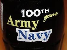 Army Navy 100th game  coke bottle