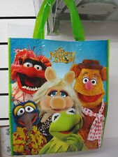 THE MUPPET SHOW PLASTIC TOTE BAG BEACH BIRTHDAY PARTY FAVOR 13 IN KERMIT PIGGY