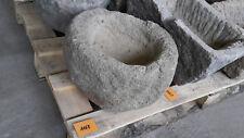 Alter Trog aus Granit 33 cm lang  Steintrog Granittrog G1168 Brunnen Waschbecken