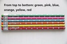 24PCS Assorted Color Wood Pencils with Eraser HB#2 Nontoxic No Lead Unsharpened