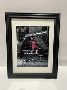 Michael Jordan Framed Picture Dunk Contest Picture 7.5 X 9.5 Frame 12 X 15