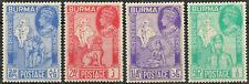 Burma 1946 KGVI Victory set of 4 mint stamps LMM