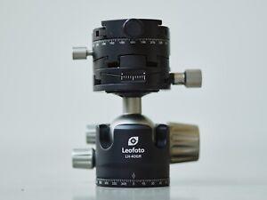 Leofoto LH-40GR Panorama Geared Ball Head Hybrid p0+