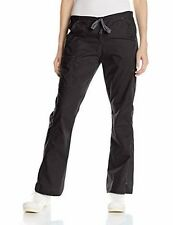 WonderWink Women's WonderFLEX Flare Leg Cargo Pant Black XS NEW WITH TAGS