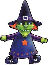 sticker decal car bike bumper halloween spooky kid horror macbook witch horror