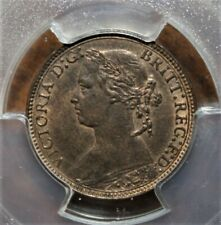 Great Britain 1 Farthing 1875-H PCGS MS63RB Coin *** S-3959 Older Features