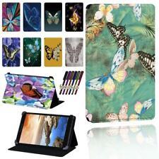 """Impreso De Cuero Inteligente De pie Estuche Cubierta para Tablet Lenovo Tab7""""8""""10"""" Thinkpad + Pluma"""