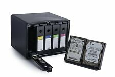 SISUN 5-Bay Professional Anti-Static 3.5 / 4x  2.5 inch HDD Protection box case