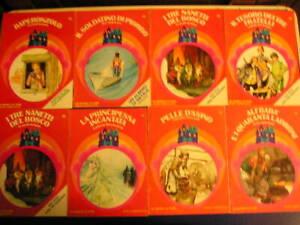 Lotto blocco UN MONDO DI FIABE 11 libri favole racconti vintage