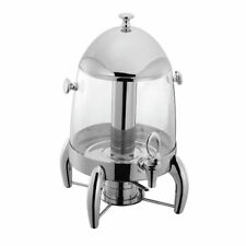 Hubert Juice Dispenser 3 Gallon Stainless Steel and Break Resistant