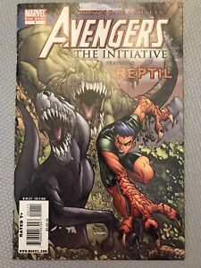 AVENGERS THE INITIATIVE featuring REPTIL 1st Appearance ONE-SHOT RARE