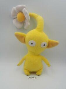 "Pikmin B2308 Yellow Flower Sanei Beanie 2001 Plush 6"" NOTUSHTAG Toy Doll japan"