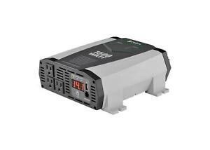 Cobra CPI 1590 Certified Refurbished 1500 Watts 3000 Peak Power Inverter AC/DC