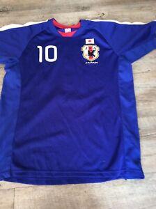 Japan Football Shirt Size Medium Men's