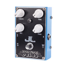 NEW JL GOOD TIMES DELAY - GUITAR EFFECT PEDAL  - QUALITY HAND BUILT PEDAL