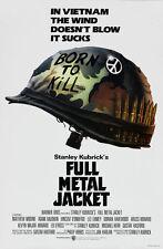 Full Metal Jacket Stanley Kubrick movie poster #2