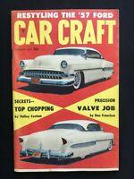 Car Craft Hot Rod Magazine January 1957 - FREE SHIPPING