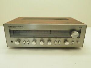 MCS Series Modular Component Systems 3207 AM/FM Stereo Receiver 120V 60Hz 70W