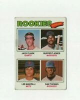 1977 Topps Jack Clark ROOKIE Baseball Card #488 - San Francisco Giants HOF