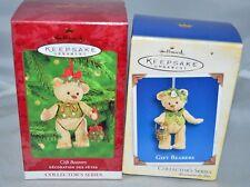 Lot of 2 Hallmark Keepsake Gift Bearers Collector's Series 2000 2005