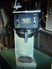 COFFEE MAKER, 240 VOLTS.. AIR POT, BUNN, AUTO, SHORT POT, 900 ITEMS ON E BAY