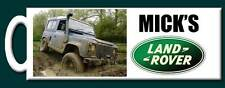 Personalised Land Rover with Your Own Photo Mug -  Perfect gift