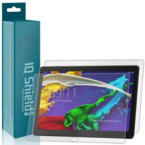 """IQ Shield Anti-Glare Full Body Skin Protector for Lenovo Smart Tab P10 (10.1"""")"""