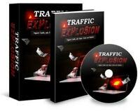 eBook Traffic Explosion Google + Internet Marketing mehr Leads Landingpage PLR