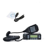 HYS 25W 144/430Mhz Mini Portable Car Mobile Amateur Radio Mobile FM Transceiver