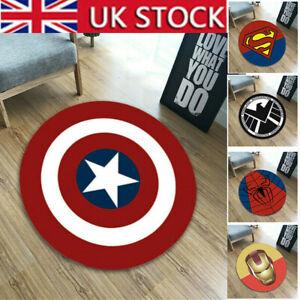 Avengers Superhero Carpet Floor Rug Non-Slip Mats Room Bath Bedroom Mat Decor