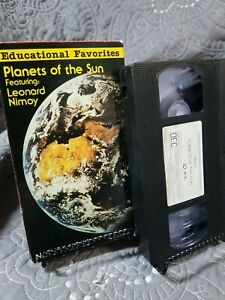 Planets of the Sun Featuring Leonard Nimoy Nature Series (VHS, 1992)