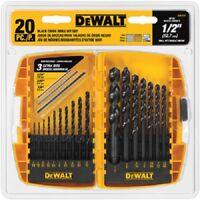 Dewalt, DW1177, 20 Piece, Black Oxide, Metal Drilling, Bit Set