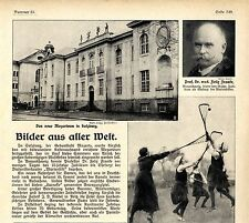 Das neue Mozarteum in Salzburg Bilddokument von 1914