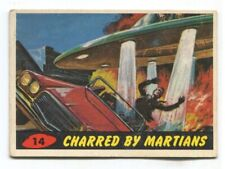 1962 Topps Mars Attack #14 Charred by Martians VG/EX