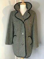 Collins & Aikman Fashionbilt Casual Women's Hounds tooth Black and White Coat