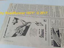 VESPA Piaggio_pubblicità originale anno 1957_advertisement_werbung_publicitè