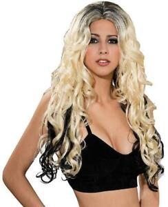 To Dye For Wig Shakira Long Curly Dress Up Halloween Adult Costume Accessory