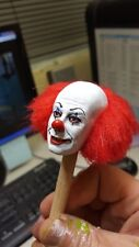 Pennywise the clown from it classic version  rooted hair  for 12 inch body new
