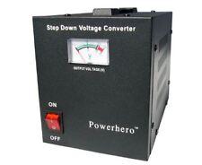Power Hero 1000va 700 Watt Step Down Voltage Transformer for Powering US 110 -