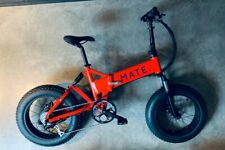 MATE X Electric Bike / 750w Supercharged 30mph+ / Free postage / BRAND NEW