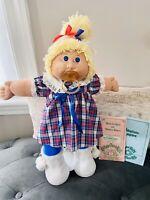 "Cabbage Patch Jesmar Doll ""1985""/Alis Charlotte"